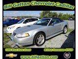 2001 Silver Metallic Ford Mustang V6 Convertible #55138705