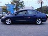 2007 Royal Blue Pearl Honda Civic EX Sedan #55138700