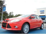 2012 Race Red Ford Focus SEL 5-Door #55138103