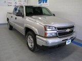 2006 Silver Birch Metallic Chevrolet Silverado 1500 Z71 Crew Cab 4x4 #55138418