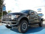 2011 Ebony Black Ford F150 SVT Raptor SuperCrew 4x4 #55138097