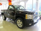 2011 Black Chevrolet Silverado 1500 LT Regular Cab 4x4 #55138084