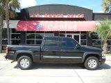 2005 Onyx Black GMC Sierra 1500 SLT Crew Cab 4x4 #55138081