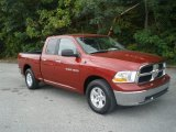 2011 Deep Cherry Red Crystal Pearl Dodge Ram 1500 SLT Quad Cab #55138651
