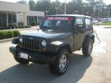 2010 Natural Green Pearl Jeep Wrangler Sport 4x4 #55138363
