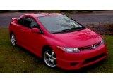 2007 Rallye Red Honda Civic Si Coupe #55138357