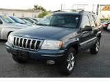 2002 Steel Blue Pearlcoat Jeep Grand Cherokee Limited #55138355