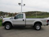 Ingot Silver Metallic Ford F250 Super Duty in 2012