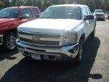 2012 Summit White Chevrolet Silverado 1500 LS Extended Cab 4x4 #55137985