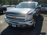 2012 Black Chevrolet Silverado 1500 LS Extended Cab 4x4 #55137978