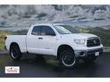 2010 Super White Toyota Tundra SR5 Double Cab 4x4 #55137943