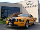 2007 Grabber Orange Ford Mustang GT Deluxe Coupe #55138312