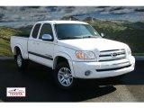 2005 Natural White Toyota Tundra SR5 Access Cab 4x4 #55137921