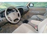 2005 Toyota Tundra SR5 Access Cab 4x4 Taupe Interior