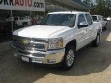 2012 Summit White Chevrolet Silverado 1500 LT Crew Cab #55138560