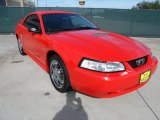 2001 Performance Red Ford Mustang V6 Coupe #55138238