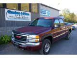 2003 Dark Toreador Red Metallic GMC Sierra 2500HD SLE Extended Cab 4x4 #55138225