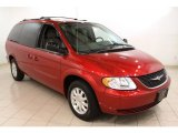 2003 Chrysler Town & Country Inferno Red Pearl