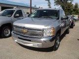 2012 Silver Ice Metallic Chevrolet Silverado 1500 LS Regular Cab #55138482