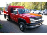 2004 Chevrolet Silverado 3500HD Extended Cab 4x4 Dump Truck Data, Info and Specs
