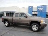 2008 Desert Brown Metallic Chevrolet Silverado 1500 LT Extended Cab 4x4 #55138178