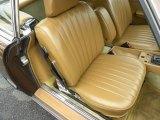 1983 Mercedes-Benz SL Class Interiors