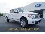 2011 White Platinum Metallic Tri-Coat Ford F150 Platinum SuperCrew 4x4 #55188819