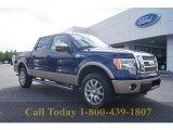 2011 Dark Blue Pearl Metallic Ford F150 King Ranch SuperCrew 4x4 #55188817