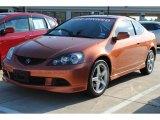 2006 Blaze Orange Metallic Acura RSX Type S Sports Coupe #55189028