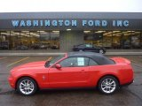2011 Race Red Ford Mustang V6 Premium Convertible #55189001