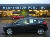 2012 Black Ford Focus Titanium 5-Door #55188988