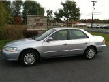 2002 Satin Silver Metallic Honda Accord LX Sedan #55188980