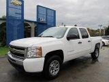 2011 Summit White Chevrolet Silverado 1500 LS Crew Cab 4x4 #55188727