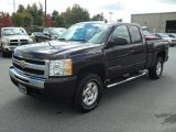 2009 Dark Cherry Red Metallic Chevrolet Silverado 1500 LT Extended Cab 4x4 #55189170