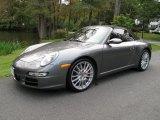 2008 Meteor Grey Metallic Porsche 911 Carrera S Cabriolet #55188696