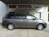 2012 Predawn Gray Mica Toyota Sienna XLE #55188694