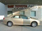 2012 Sandy Beach Metallic Toyota Camry LE #55188690