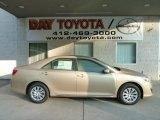 2012 Sandy Beach Metallic Toyota Camry LE #55188688
