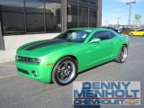2010 Synergy Green Metallic Chevrolet Camaro LT Coupe Synergy Special Edition #55189116