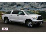 2012 Super White Toyota Tundra SR5 TRD CrewMax 4x4 #55188641