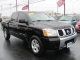 2007 Galaxy Black Nissan Titan SE Crew Cab #55189106