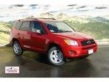2011 Barcelona Red Metallic Toyota RAV4 I4 4WD #55188634
