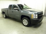 2008 Blue Granite Metallic Chevrolet Silverado 1500 Work Truck Extended Cab #55189102
