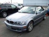2004 Silver Grey Metallic BMW 3 Series 330i Convertible #5505298