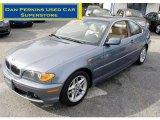 2004 Steel Blue Metallic BMW 3 Series 325i Coupe #55188613
