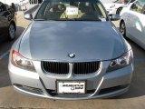 2007 Titanium Silver Metallic BMW 3 Series 328i Sedan #5521403