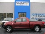 2010 Salsa Red Pearl Toyota Tundra Double Cab 4x4 #55236343