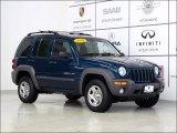 2002 Patriot Blue Pearlcoat Jeep Liberty Sport 4x4 #55236131
