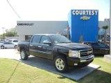2011 Black Chevrolet Silverado 1500 LT Crew Cab #55236328