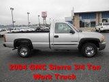 2004 GMC Sierra 2500HD Work Truck Regular Cab Data, Info and Specs